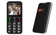 Senior phone $40 Prepaid Phonecard
