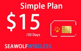 Seawolf Wireless $15 Phone Card