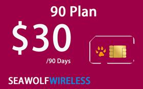 Seawolf Wireless $30 International Calling Card